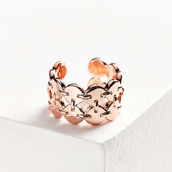 Luv Aj Double Disco Fever Ring | Urban Outfitters