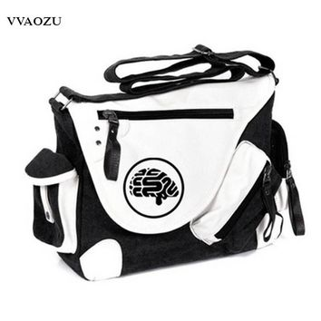 DMMD DRAMAtical Murder Print One Shoulder Bag Men Women Cosplay Canvas Messenger Bags Travel Students Satchels