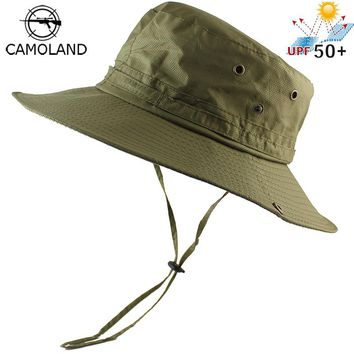 Light Sun Hat Bucket Summer for Men Women Fishing Boonie UV Protection Safari Large Wide Brim Hiking Outdoor Beach Cap Sport