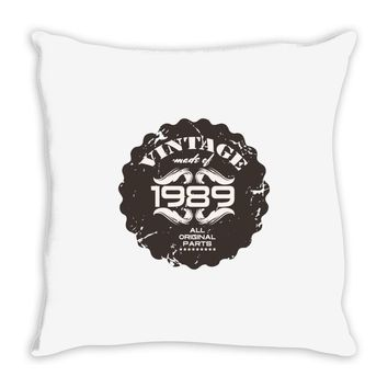 vintage made of 1989 all original parts Throw Pillow