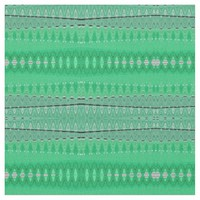 Green abstract design fabric