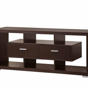 Coaster Fine Furniture Tv Console Cappuccino 700112