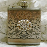 Jeweled Flask