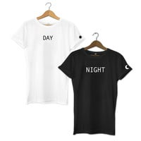 Day and Night Best Friends T-Shirt