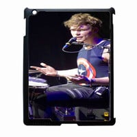 5SOS Drumer 817bb54c-e3ee-47c8-bc2d-54d256e7a3b9 for IPAD 2/3/4 case**