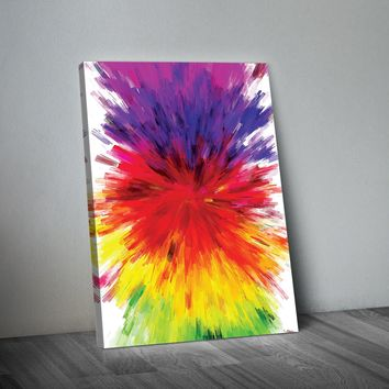 Color Explosion Abstract Art Print