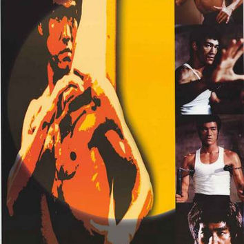 Bruce Lee The Dragon Poster 24x36