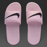 Nike Benassi Casual Fashion Women Sandal Slipper Shoes pink  H-A50-XYZ