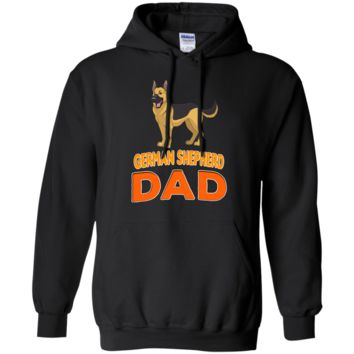 German Shepherd Funny Dog Dad Pullover Hoodie 8 oz.