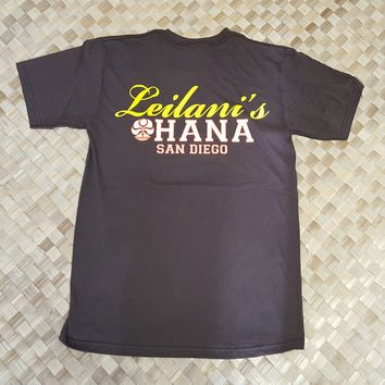 "HIC ""Leilanis Ohana"" Mens T-Shirt, Padres Brown"