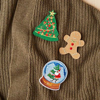 Instant Ugly Sweater Pin Set - Urban Outfitters