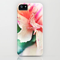 Drop Of Magic - Carnation Photography iPhone & iPod Case by Tangerine-Tane