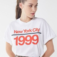 New York 1999 Crew-Neck Tee | Urban Outfitters