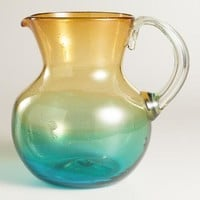 Ombre Highball Monterey Glass Pitcher