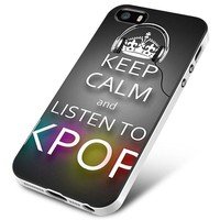 Keep Calm And Listen to Kpop iPhone 5 | 5S | 5SE Case Planetscase.com