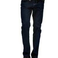 Delmar Slim Straight Jeans in Midnight Wash at Guess