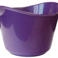 Calypso Basics 2-Quart Microwave Batter Bowl, Plum