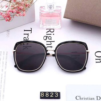 Dior 2019 new women's box polarized color film sunglasses #2