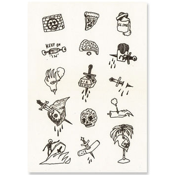 Tattoo Flash Art Print