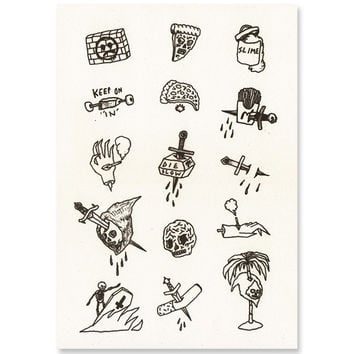 Tattoo Flash Art Print from Strange Ways | Home + Apartment