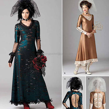 Steampunk Wedding Dress Pattern - Simplicity 1772