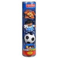 Fisher-Price Little People Soccer Figures