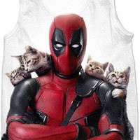 Deadpool And Cats
