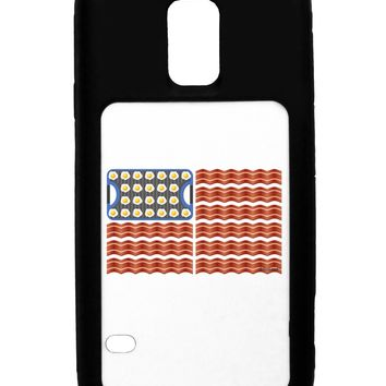 American Breakfast Flag - Bacon and Eggs Galaxy S5 Case  by TooLoud