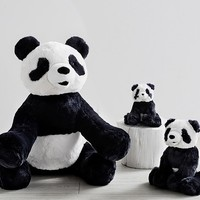 Navy Panda Plush Collection