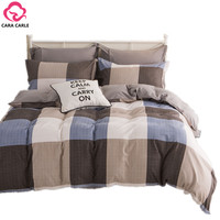 CARA CARLE Bedding Set 4pcs Bedclothes Duvet Cover Bed Sheet Bedspread Comforter Bedding Sets Bed Linen Cotton housse de couette