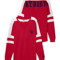 New England Patriots Pocket Varsity Crew - PINK - Victoria's Secret