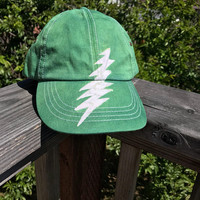 Batik Bolt Hat, Grateful Dead Batik hat, Grateful Dead Bolt Baseball Cap