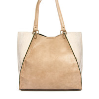 New Look | New Look Metal Bar Phoebe Wing Shopper at ASOS