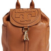 Women's Tory Burch 'All-T' Leather Backpack