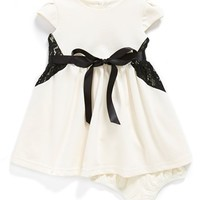 Infant Girl's Us Angels Cap Sleeve Dress & Bloomers (Online Only)