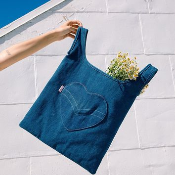 Blue Jean Baby Tote