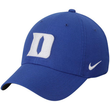 Nike Duke Blue Devils Royal Heritage 86 Authentic Adjustable Performance Hat