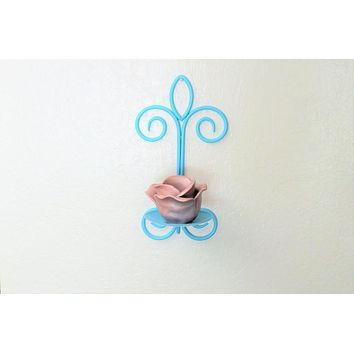 Country Chic Candle Wall Sconce