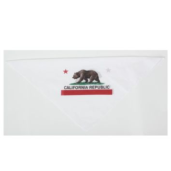 California Flag Bandana Republic Bear