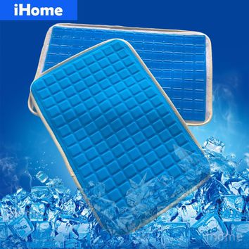 New 28x42cm ROYAL EASE Soft Silicone Gel Pillow Pad Chair Cushion Summer Cooling Sofa Seat Mat Simulation Skin Mats Mattress