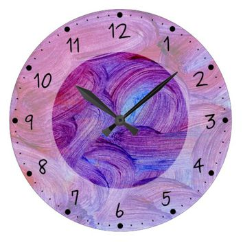 Loops Large Clock