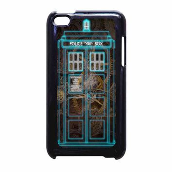 Steampunk Doctor Who Police Box Iphone Case iPod Touch 4 Case