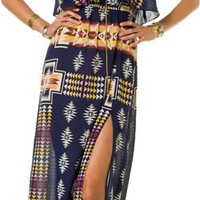 EIGHT SIXTY NAVAJO BLANKET MAXI DRESS | Swell.com