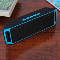 Hand-free Bluetooth Wireless Speaker w/FM For Smart Phone&Tablets