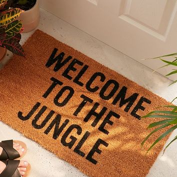 Reed Wilson Design Jungle Doormat | Urban Outfitters