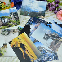 Travel Postcard Chinese Style Postcard Greeting Card Small Card 10 pcs [9283913034]