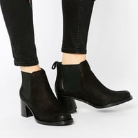 ASOS RIDDLES Leather Chelsea Boots
