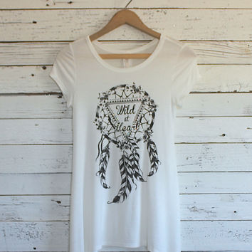 Wild At Heart Tunic Tee