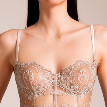 I.D. Sarrieri: Mystere De Minuit Mini Bustier | Nancy Meyer