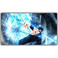 Fairy Tail Poster Popular Classic Japanese Anime Home Decor Silk Poster Picture Print Wall Decor 30x53cm 60x106cm